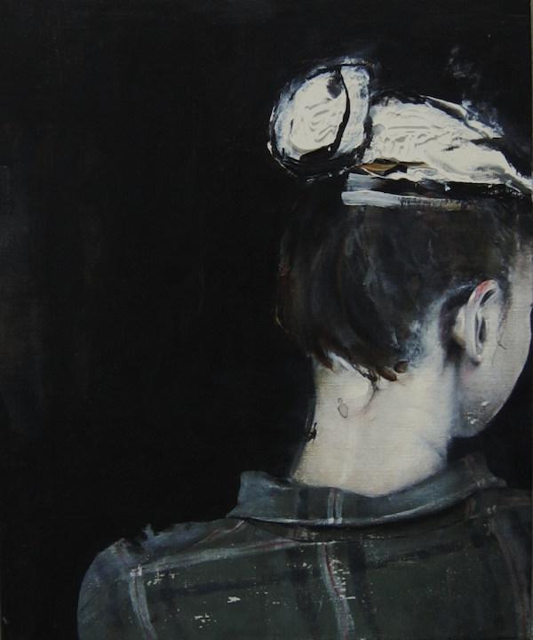 Antoine Cordet canvas toile peinture painting portrait art artist artiste peintre acrylic For a seventh wood