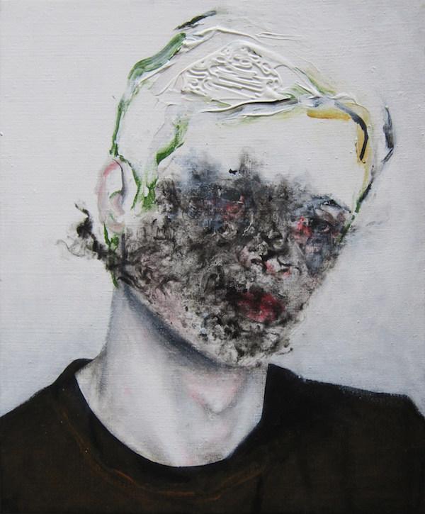 Antoine Cordet canvas toile peinture painting portrait art artist artiste peintre acrylic Applause for your madness