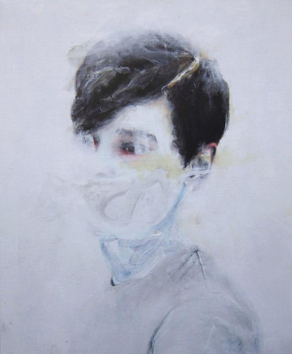 Antoine Cordet canvas toile peinture painting portrait art artist artiste peintre acrylic Montparnasse