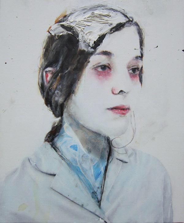 Antoine Cordet canvas toile peinture painting portrait art artist artiste peintre acrylic Motherfucker you decide