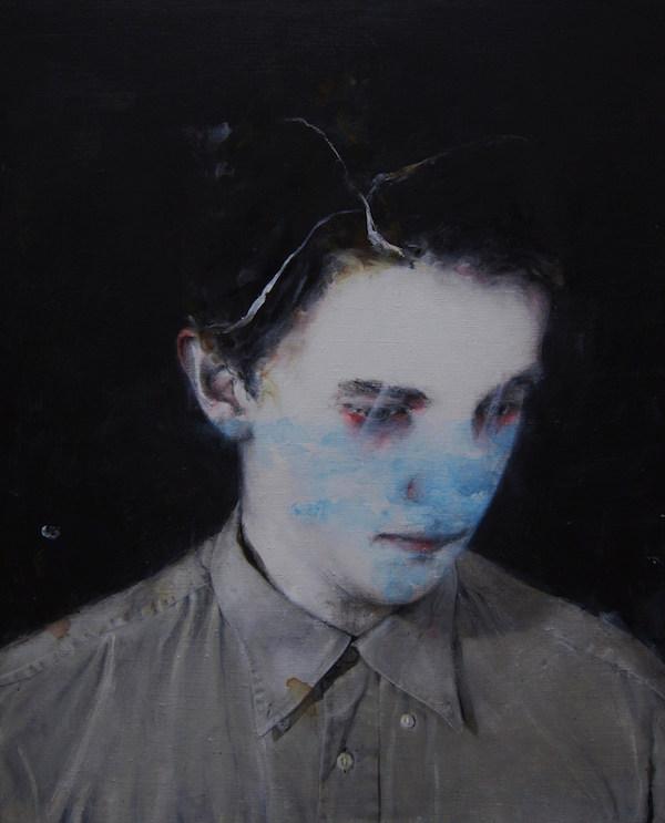 Antoine Cordet canvas toile peinture painting portrait art artist artiste peintre acrylic Drink the water of your mouth