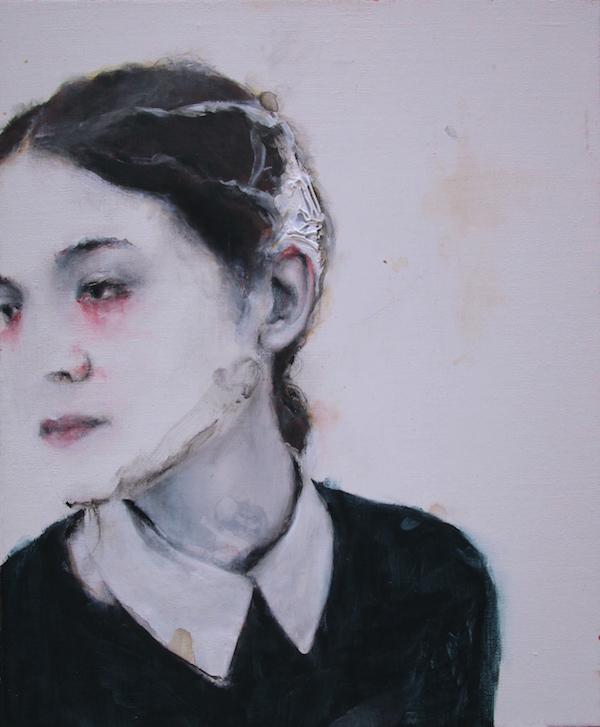 Antoine Cordet canvas toile peinture painting portrait art artist artiste peintre acrylic Never lost St. Petersburg