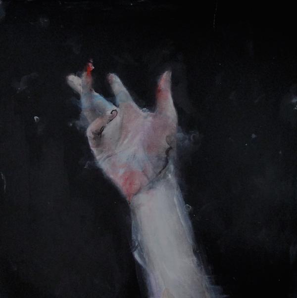 Antoine Cordet canvas toile peinture painting portrait art artist artiste peintre acrylic Yes nocturnal street barks