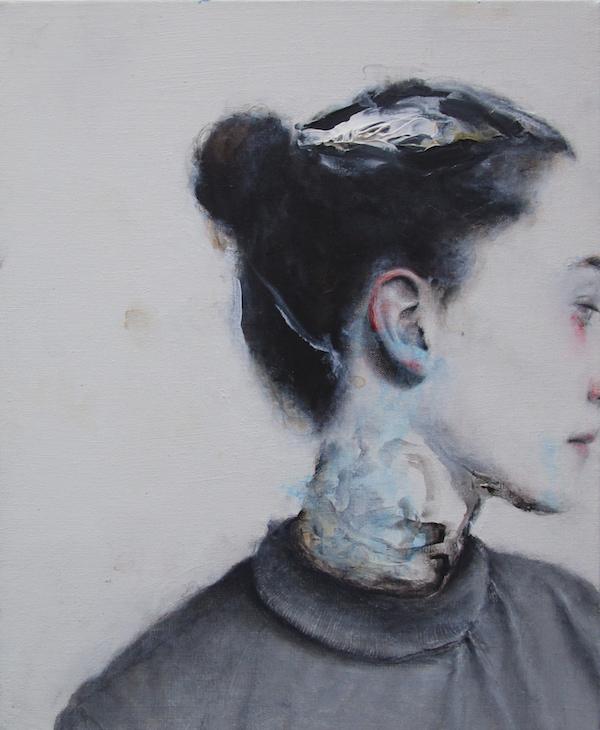 Antoine Cordet canvas toile peinture painting portrait art artist artiste peintre acrylic I will be rich in jail
