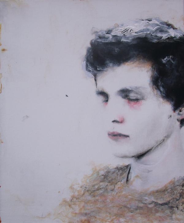 Antoine Cordet canvas toile peinture painting portrait art artist artiste peintre acrylic Caph stone in your face