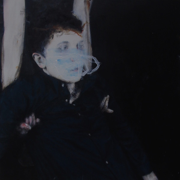 Antoine Cordet canvas toile peinture painting portrait art artist artiste peintre acrylic All fragments love the kid