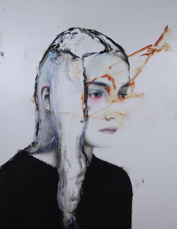 Antoine Cordet canvas toile peinture painting portrait art artist artiste peintre acrylic Freddie Mercury is still here