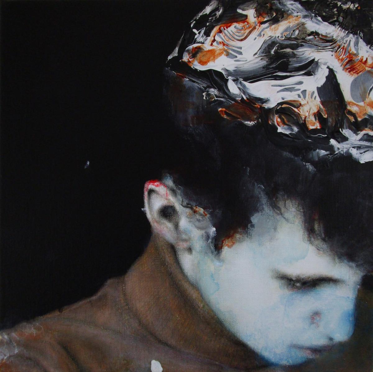 Antoine Cordet canvas toile peinture painting portrait art artist artiste peintre acrylic Unionhillwave
