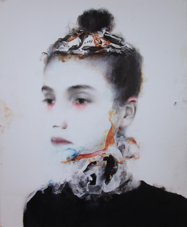 Antoine Cordet canvas toile peinture painting portrait art artist artiste peintre acrylic Always Romanov