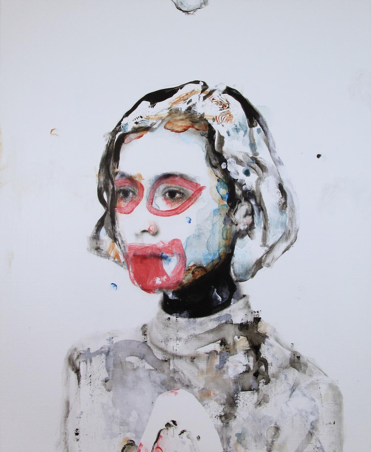 antoine cordet canvas toile peinture painting portrait art artist artiste peintre acrylic oil vcr