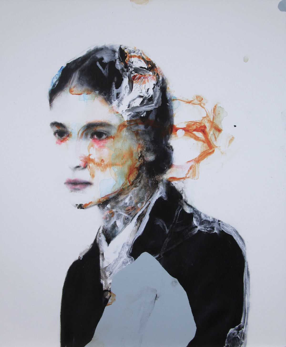antoine cordet canvas toile peinture painting portrait art artist artiste peintre acrylic oil home run amnesia