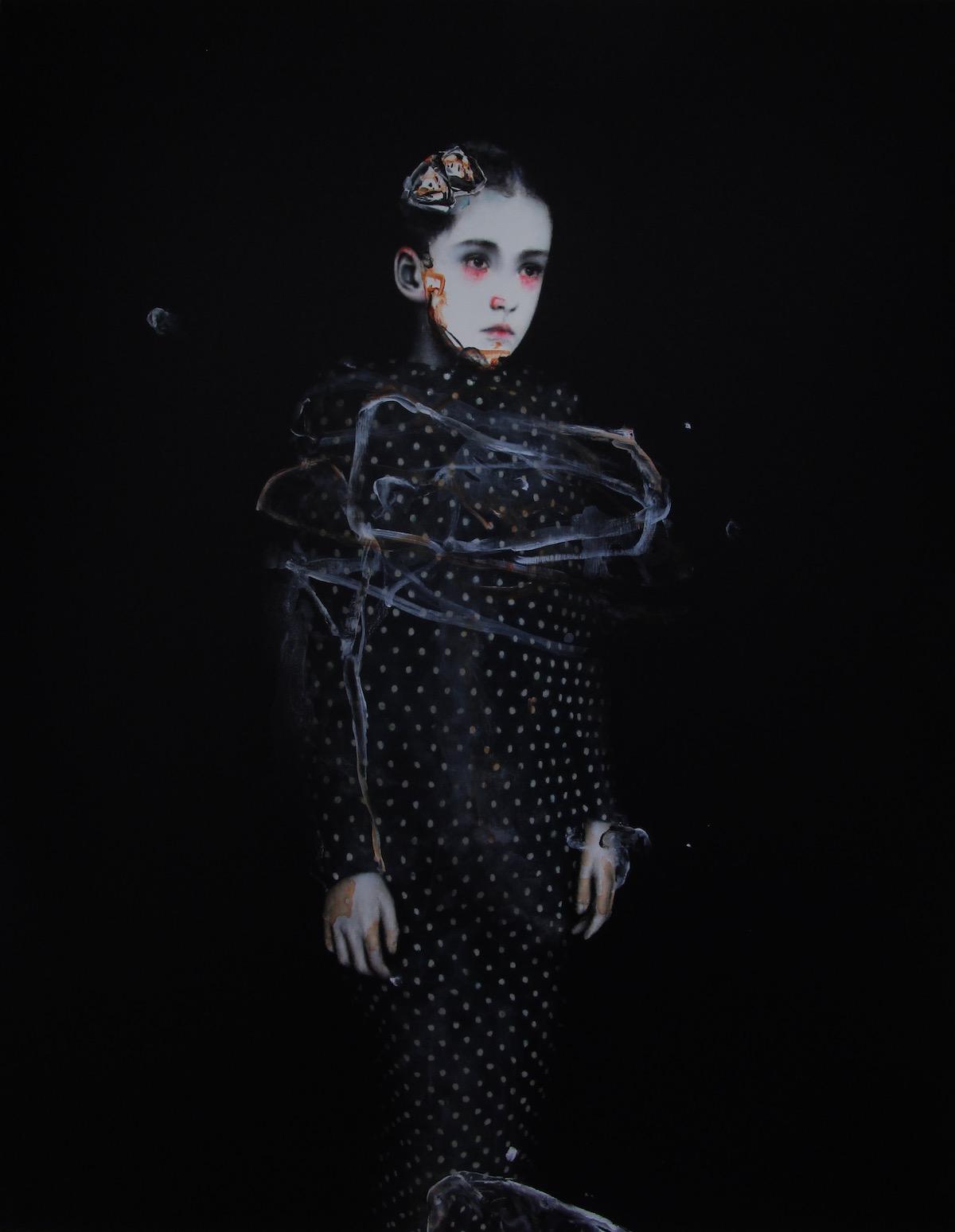antoine cordet canvas toile peinture painting portrait art artist artiste peintre acrylic oil no acid