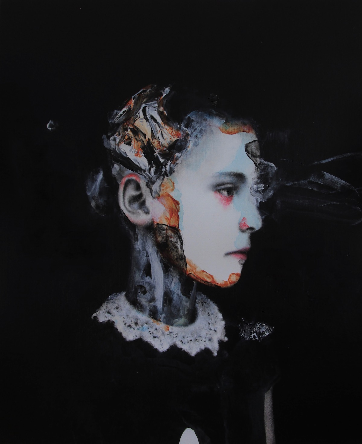 antoine cordet canvas toile peinture painting portrait art artist artiste peintre acrylic oil chapter 7