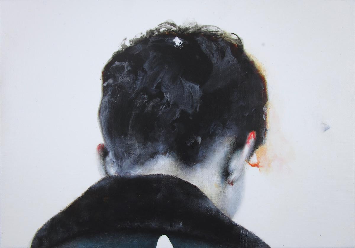antoine cordet canvas toile peinture painting portrait art artist artiste peintre acrylic oil ogitrev vertigo