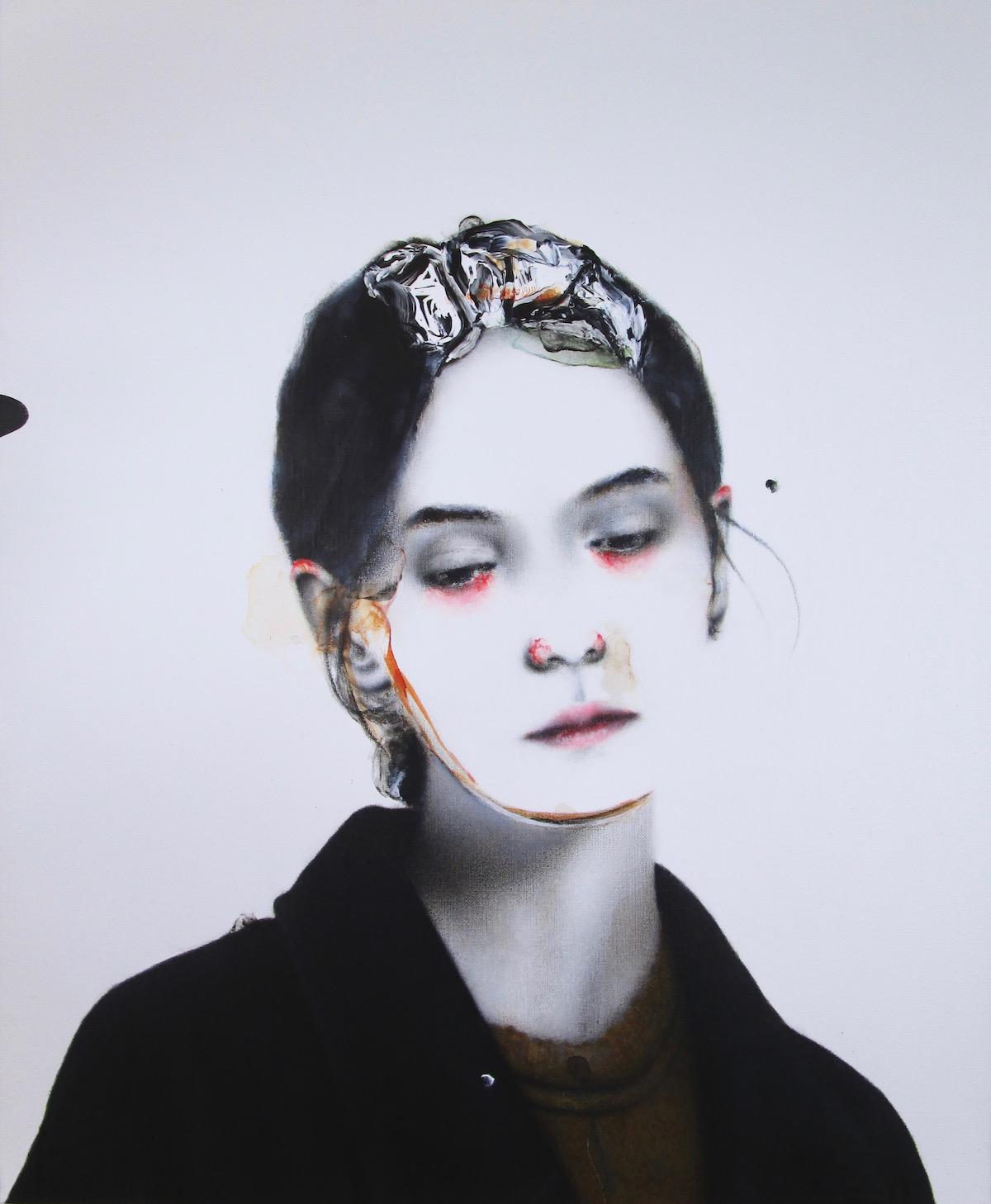 antoine cordet canvas toile peinture painting portrait art artist artiste peintre acrylic oil hypothermia tour