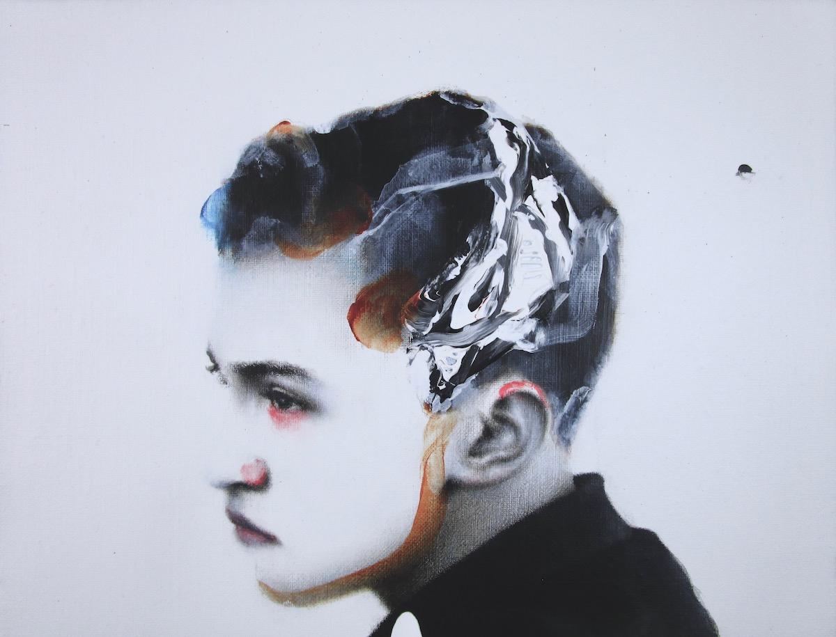 antoine cordet canvas toile peinture painting portrait art artist artiste peintre acrylic oil men lie women lie