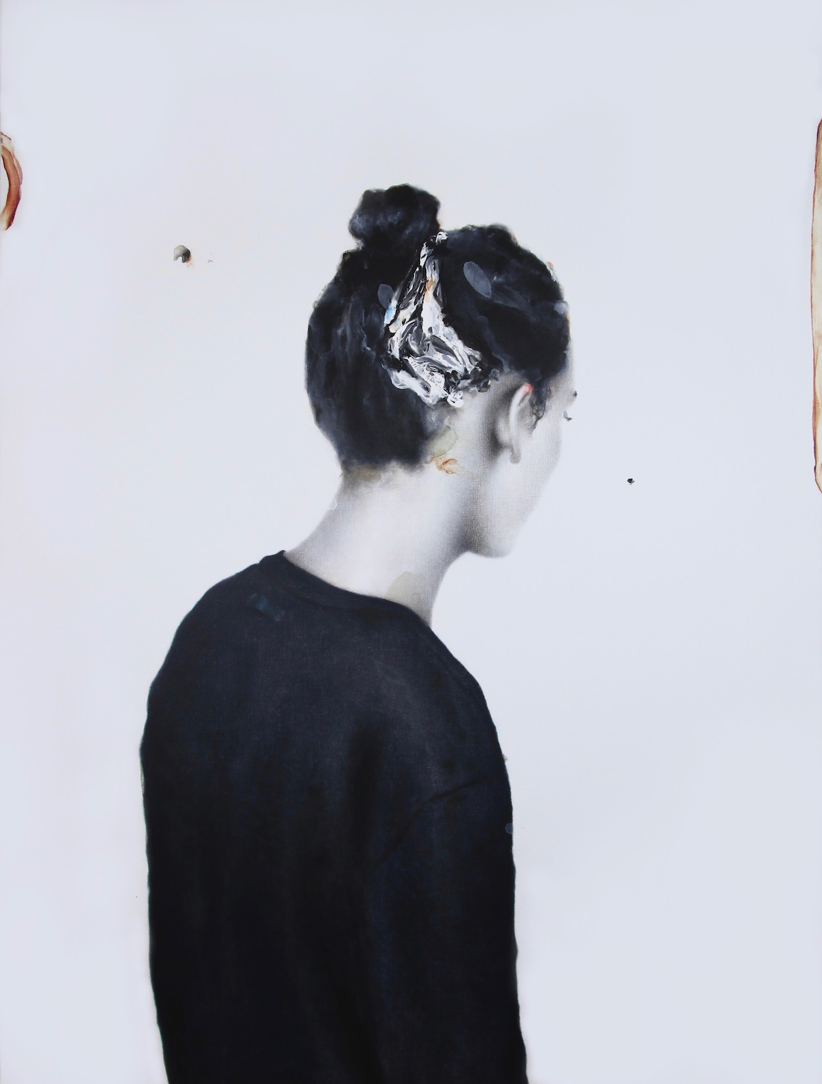 antoine cordet canvas toile peinture painting portrait art artist artiste peintre acrylic oil all around your body