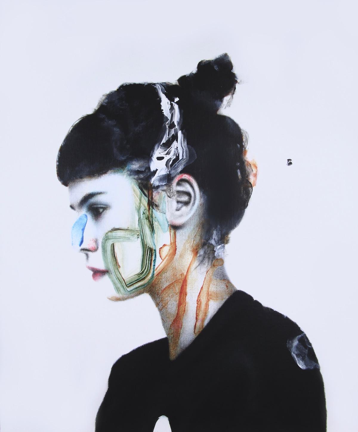 antoine cordet canvas toile peinture painting portrait art artist artiste peintre acrylic oil point nemo