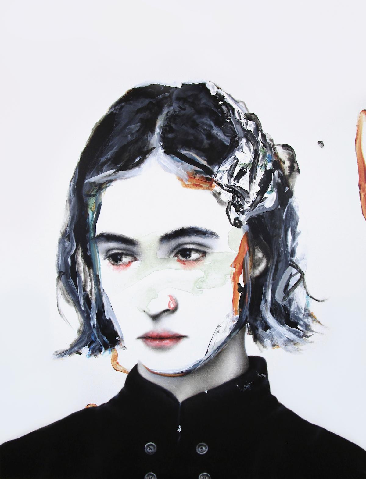 antoine cordet canvas toile peinture painting portrait art artist artiste peintre acrylic oil thanks for the scars