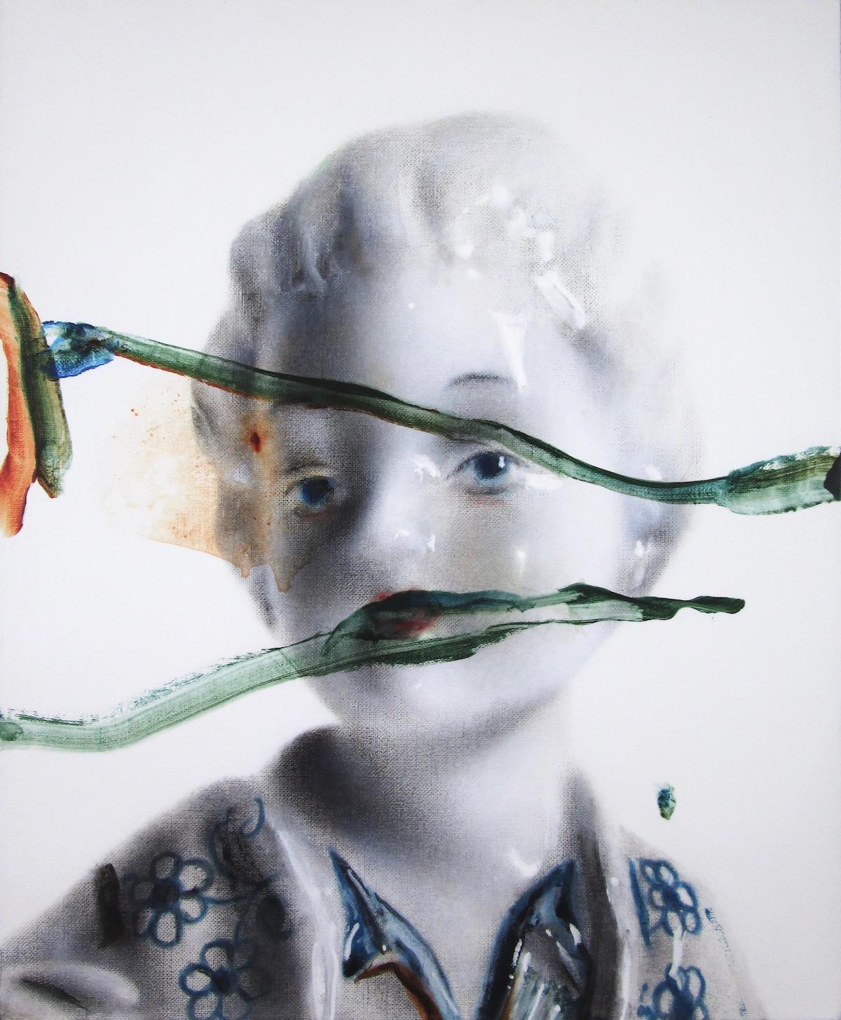 antoine cordet canvas toile peinture painting portrait art artist artiste peintre acrylic oil